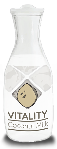 coconutmilk package mockup
